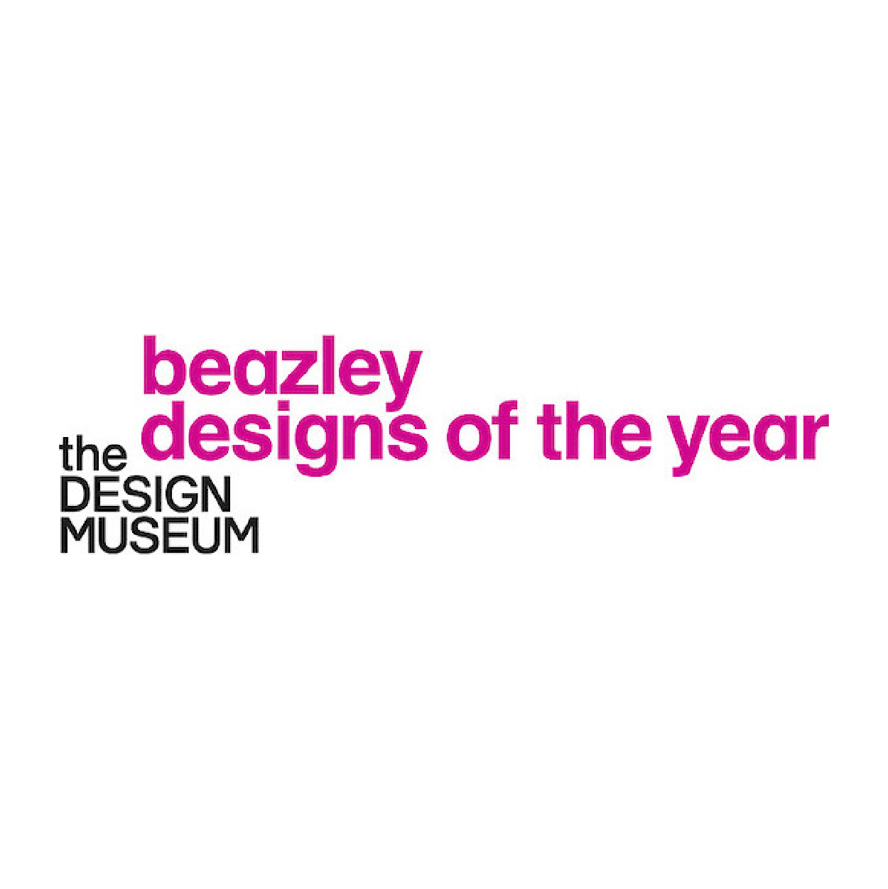Design Museum Designs of the Year logo